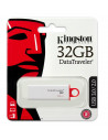 Kingston 32gb Dtig4 Usb3 Blanco - Pendrive